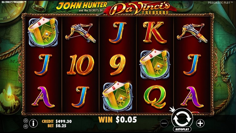 Hunt For Riches With Da Vinci's Treasure Slot From Pragmatic Play