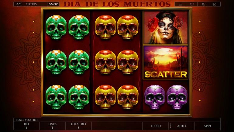 Endorphina Releases Dia de los Muertos Slot for Halloween