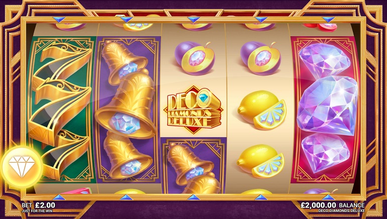 Microgaming Launches a Glittering Gem – Deco Diamonds Deluxe Slot