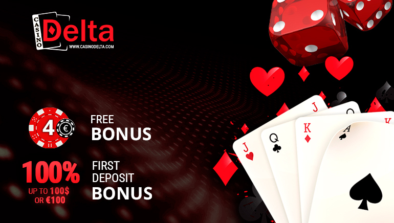 Start With €4 Free and a Hefty Match at Casino Delta