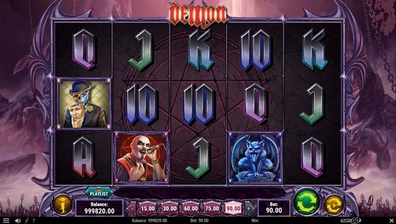 Play'n GO Launches Demon Slot Inspired by Heavy Metal Band