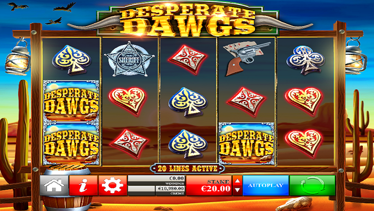 Head To The Wild West With Desperate Dawgs Online Slot From Reflex Gaming