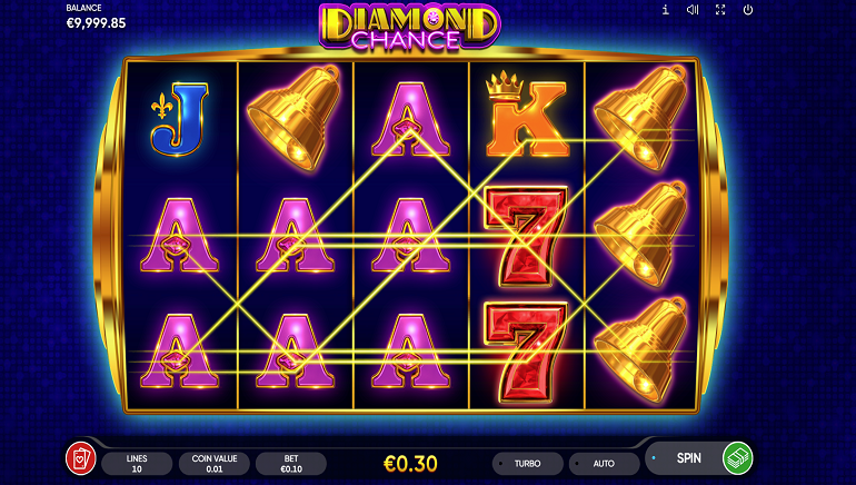 Endorphina Releases Diamond Chance Slot – A Cut Above the Rest!