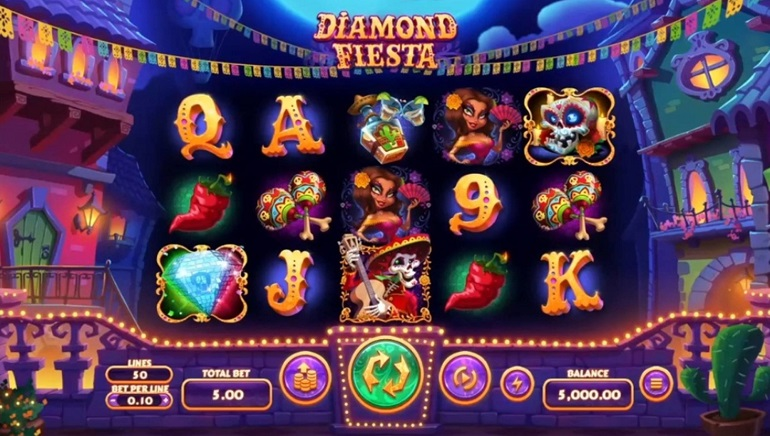 Celebrate The Day Of The Dead With RTG's New Diamond Fiesta Slot