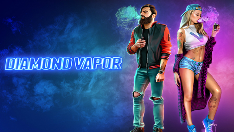 Endorphina Surprises Everyone with the First Vaping-themed Slot Diamond Vapor