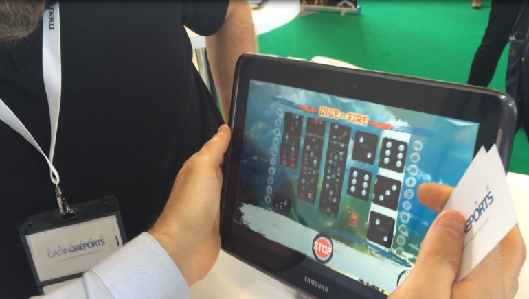 New Mobile Slot Technology Demo at AAC 2014