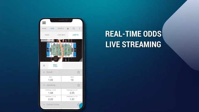 Digitain Launches World's First Table Football Live Betting Service