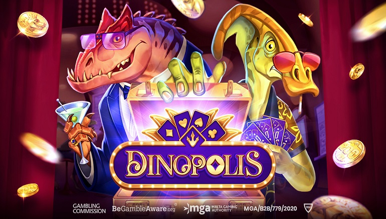 Push Gaming Reinvents History With New Dinopolis Slot