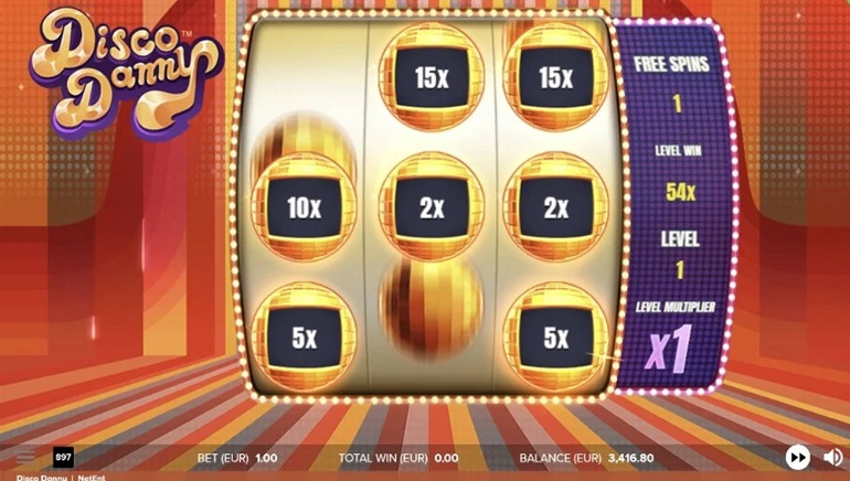 Slot Review: Disco Danny by NetEnt