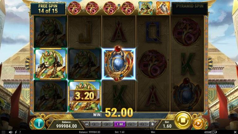 Play'N GO Awakens an Ancient Dynasty with Dawn of Egypt Slot