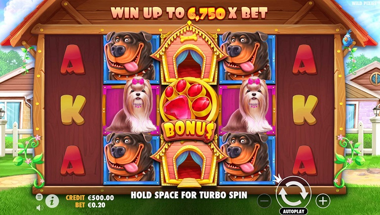 Pooches Pay Prizes In The Dog House Slot From Pragmatic Play