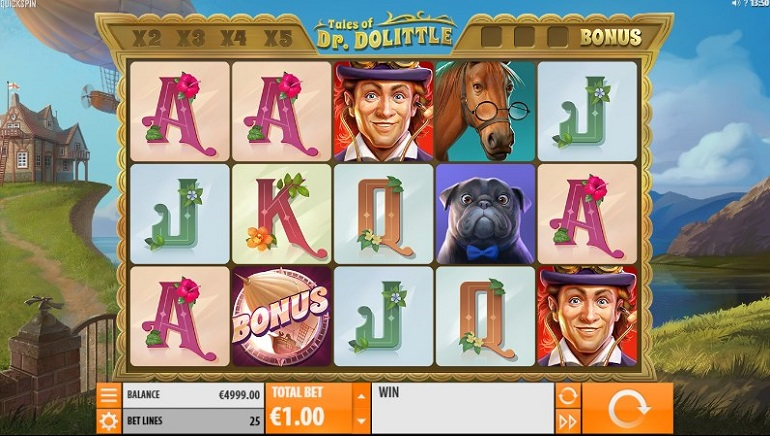Head Off For An Adventure With Tales Of Dr. Dolittle Slot From Quickspin