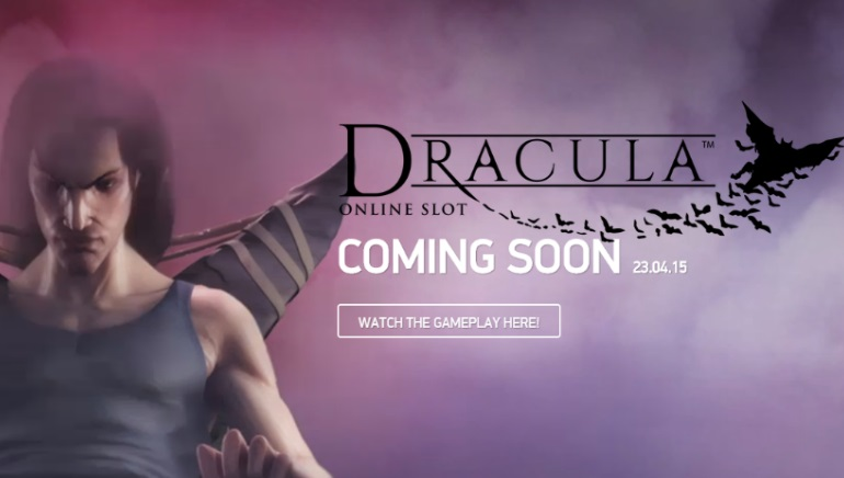 Dracula Slot from NetEnt Coming Next Month