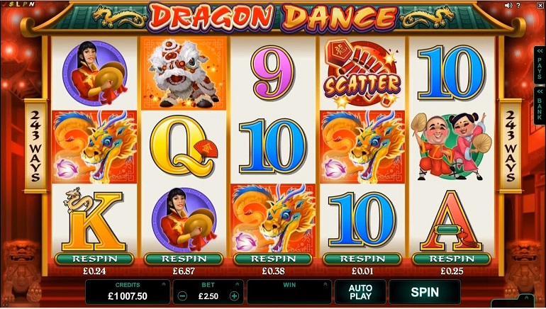 Microgaming's Dragon Dance Releasing Next Month