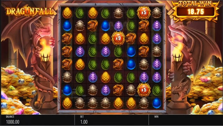 Blueprint Gaming Delivers A Hot New Slot - Dragonfall