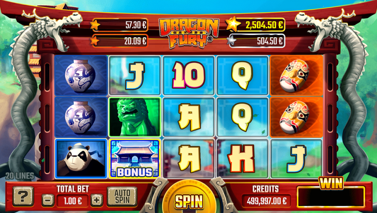 Unleash the Dragon Fury Slot By Gaming1 At Online Casinos