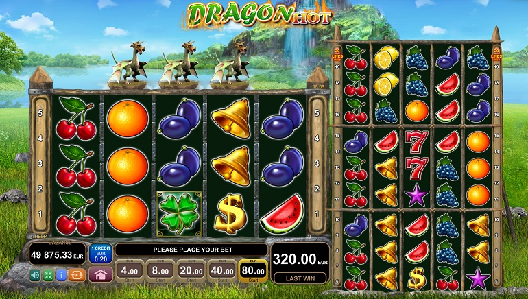High Temperatures and Dragons in EGT's Two New Slots Released Today