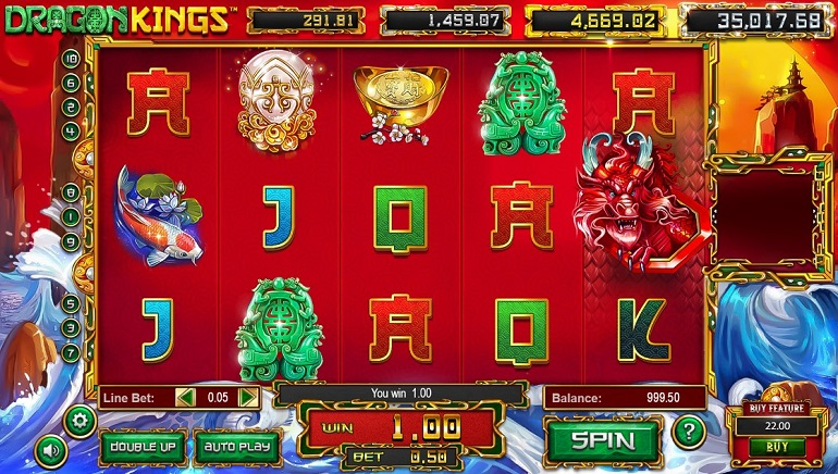 Playing The New Dragon Kings Slot From Betsoft