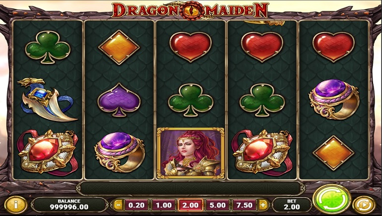 New Play'n GO Slot Dragon Maiden Arrives at Casinos
