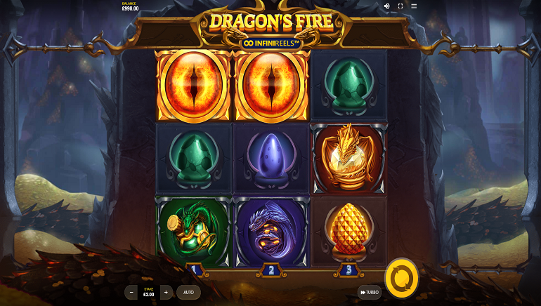 Feel The Heat With New Dragon's Fire: InfiniReels Online Slot From Red Tiger
