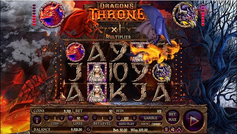 Habanero's Dragon's Throne Slot Unleashed