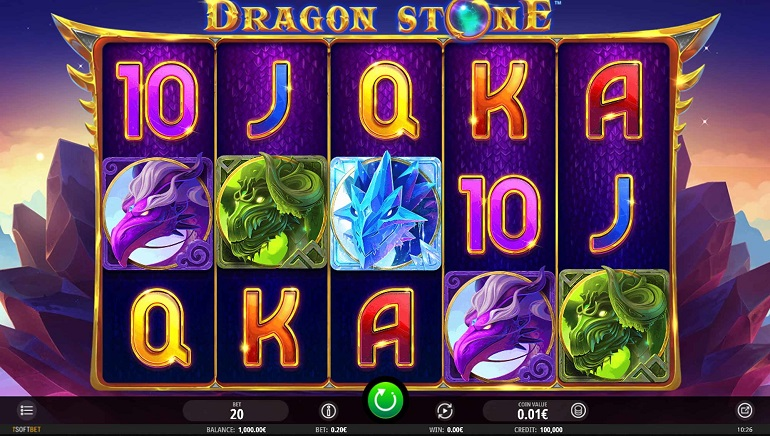 iSoftbet Unleashes Fearsome Magic In The Dragon Stone Slot