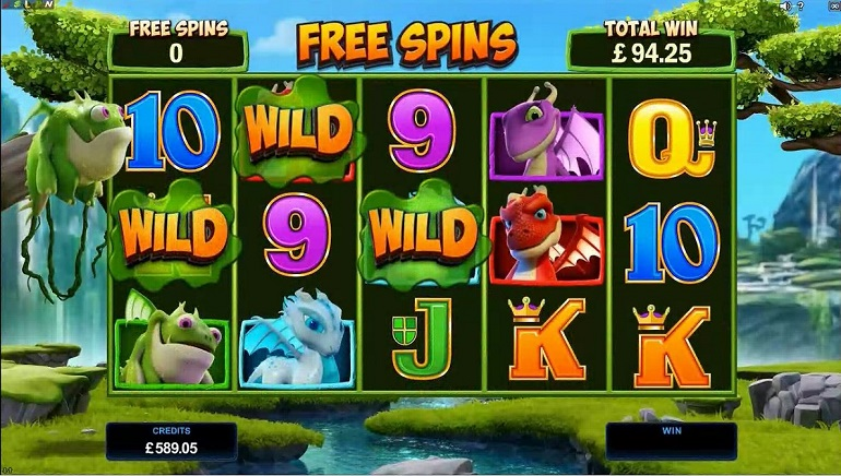 Microgaming Casinos Welcome New Dragonz Slot Today