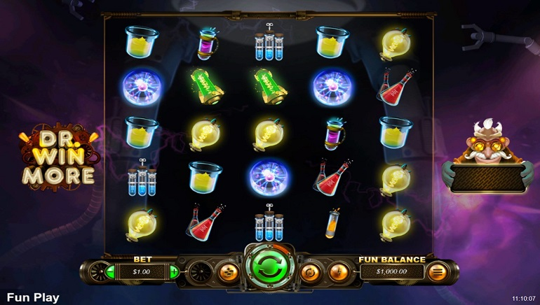 Intertops Casino Celebrates New Dr Winmore Slot With Special Bonuses