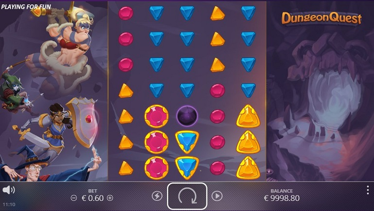 Slot Review: Dungeon Quest from NoLimit City