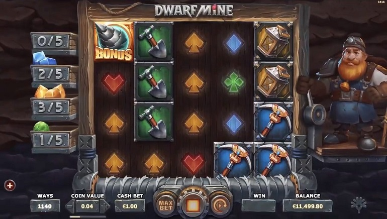 Yggdrasil Gaming Delivers a Gem with Dwarf Mine Slot