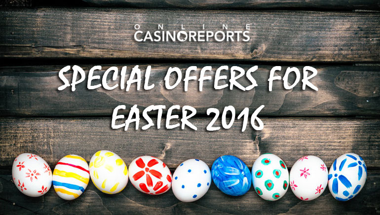 Fat Match Bonuses and Freespins in OCR's Special Offers for Easter 2016