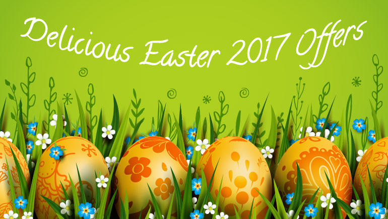 Freespins & Easter Eggs: Delicious Easter 2017 Offers