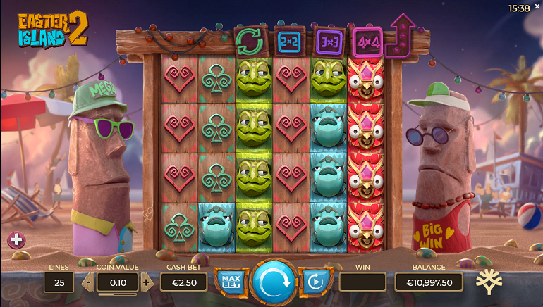 Easter Island 2 Online Slot Takes Players On A Fun Journey With Famous Statues