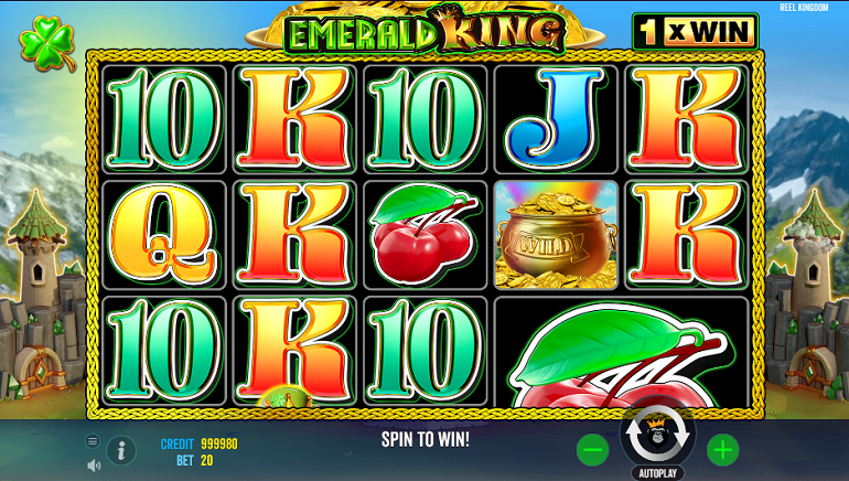 Pragmatic Play Releases Leprechauns & Pots of Gold in Emerald King Slot