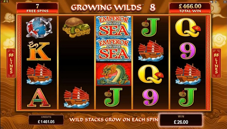 Dip Into Asian Culture with Microgaming's New Emperor Of The Sea Slot