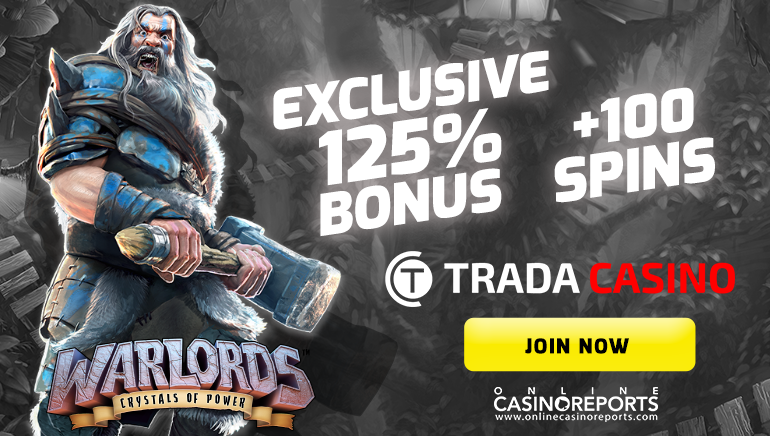 Get More with Trada Casino's Hefty Welcome Offer