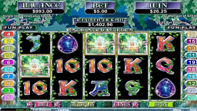 Real Time Gaming to Launch Enchanted Garden II Slot Game