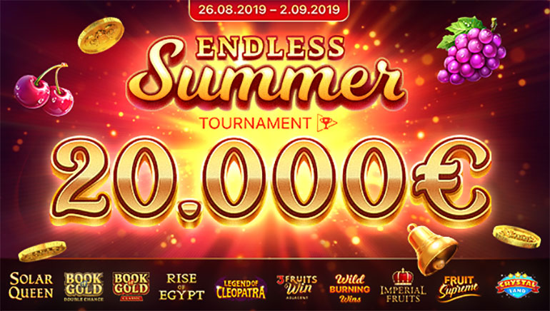 Playson Running €20k Endless Summer Tournament