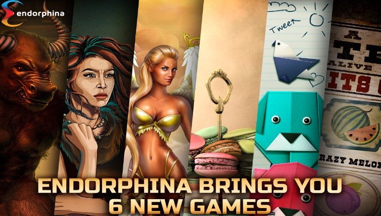 Endorphina Releases Six New Slot Games