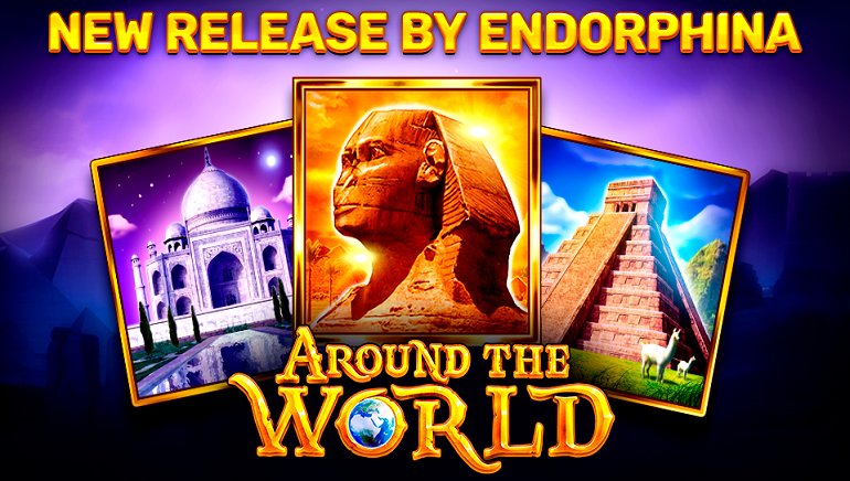 Go Around the World in New Slot from Endorphina