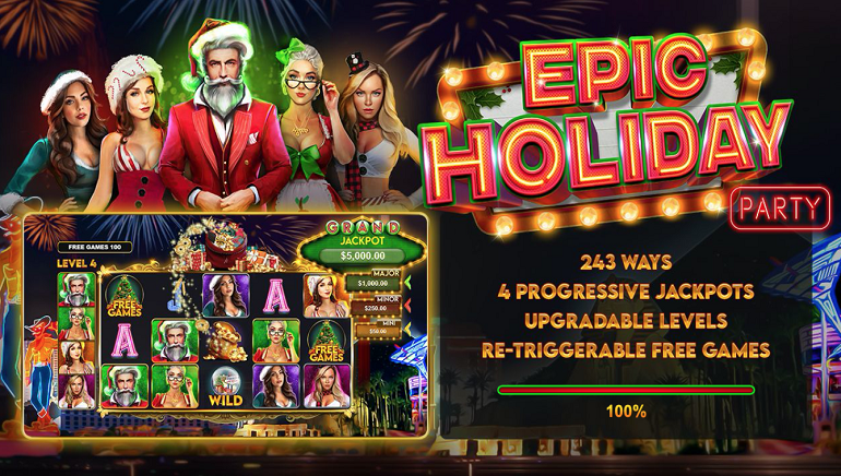 Cherry Jackpot Awarding 30 No Deposit Free Spins for Epic Holiday Party