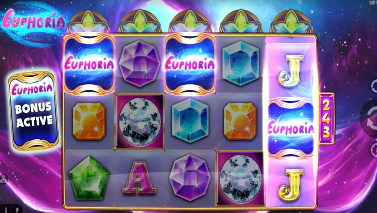iSoftBet Releases Third Slot in Xtreme Pays Series: Euphoria