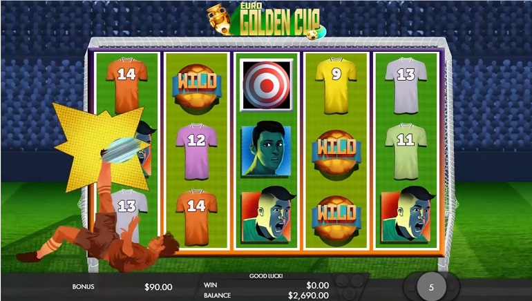 New Video Slot From Genesis Coincides With Euro 2016: Euro Golden Cup