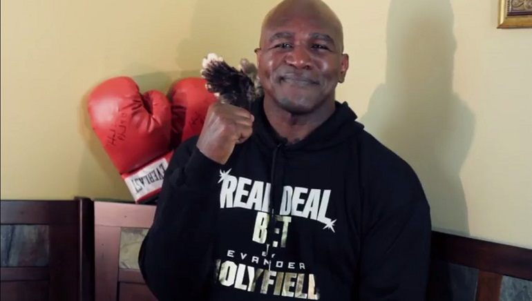 Exclusive Interview: Evander Holyfield Speaks with Online Casino Reports