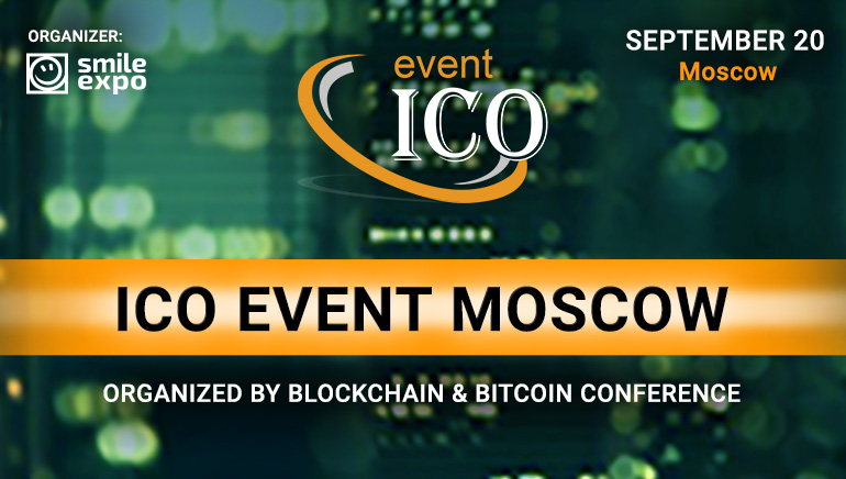Big ICO Event Taking Place in Moscow in September