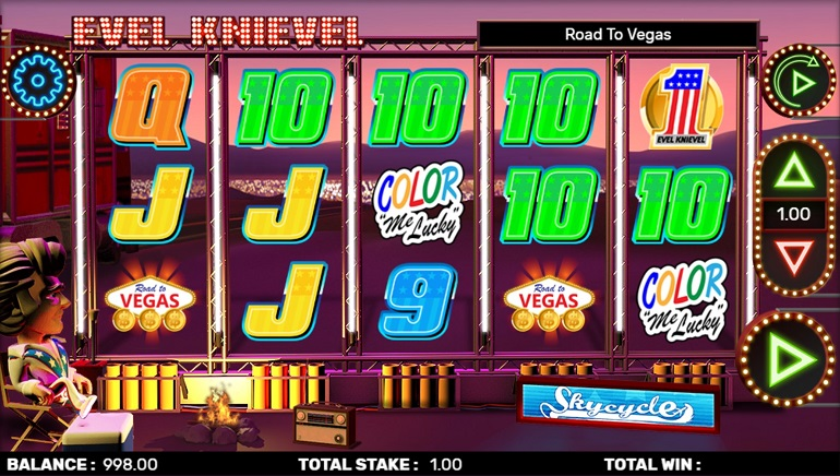 CORE Gaming's Evel Knievel Slot a Thrill Ride to Las Vegas