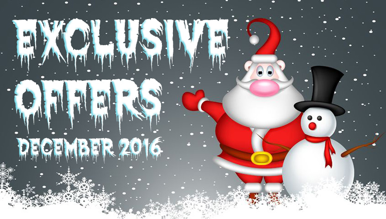 Hot Exclusive Offers for December 2016