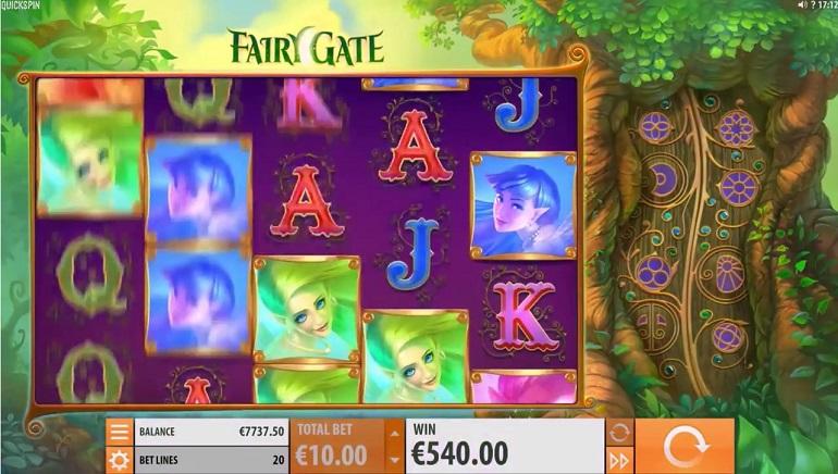 Flighty Magic in Quickspin's Fairy Gate Slot