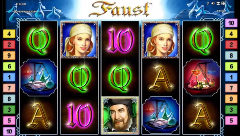 slots free games online faust online