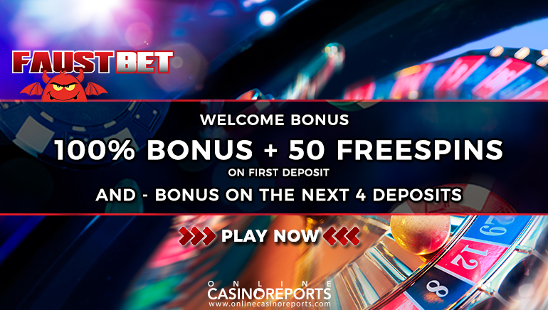 Don't Miss on Faustbet's Generous Welcome Bonus